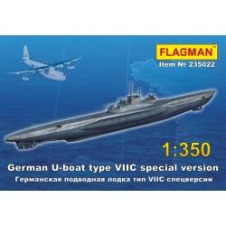 German U-boat type VII C Spec versija