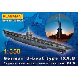 German U-boat type IX A/B