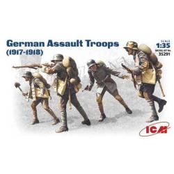 German Assault Troops (1917-1918)