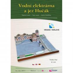 Vodni elektrarna a jez Hučak