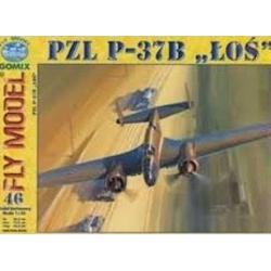 PZL P - 37B LOS