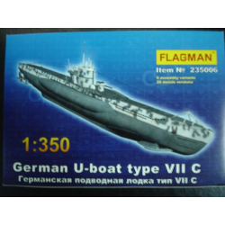 German U-boat type VII C