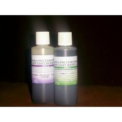 Черный полиуретан быстрая литая смола 250 гр