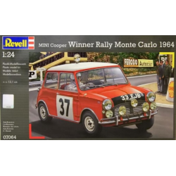 Mini Cooper Winner Rally Monte Carlo 1964