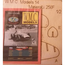 WMC 14 Maserati 250 F Laser