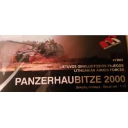 PanzerHaubitze 2000 Decal set (LT) 1:35